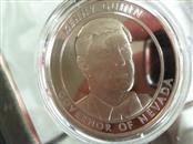 1 oz .999 silver coin kenny guinn governor of nevada